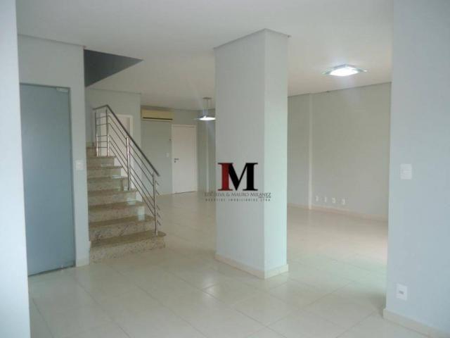 alugamos e vendemos apartamento estilo duplex com churrasqueira na sacada e 4 suites - Foto 2