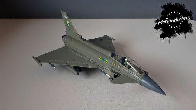 Miniatura Eurofighter EF-2000 - Escala 1:100 - Promoção Imperdível - Foto 2