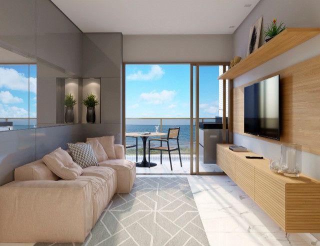 Venha morar na beira mar de praia formosa - 2 e 3 quartos, elevador e lazer na cobertura - Foto 2