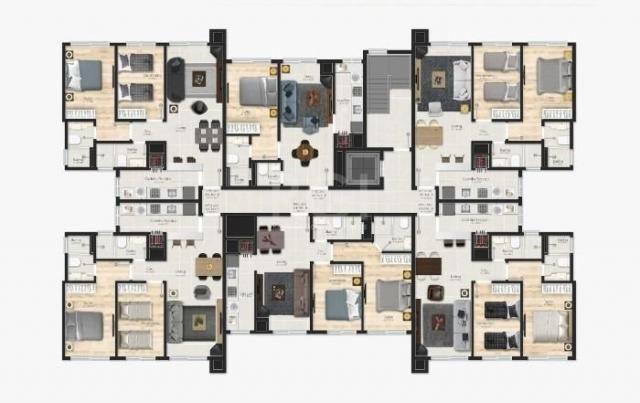 Apartamento à venda com 1 dormitórios em Várzea grande, Gramado cod:EV4091 - Foto 18