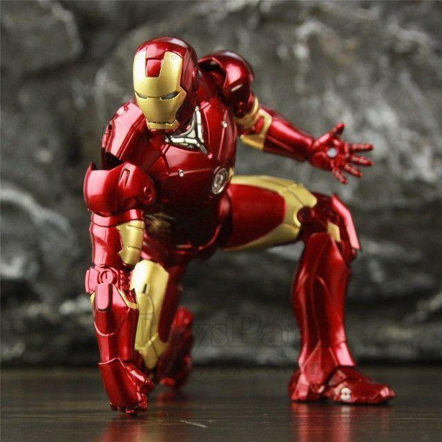 Homem De Ferro (iron Man) Mk3 Zd Toys - Foto 2