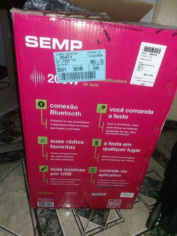 Vendo Caixa de Som da SEMP,  Filé, Semi Nova . R$= 430,00 - Foto 3