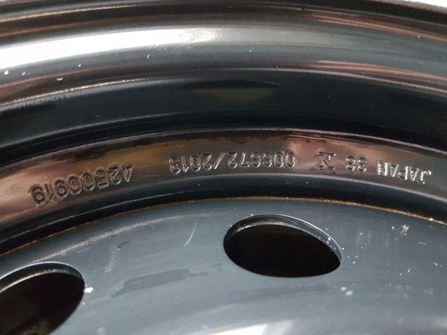 Roda de Ferro Mangels Original Mitsubishi Pajero Dakar e L200 Triton. Aro 17. - Foto 5