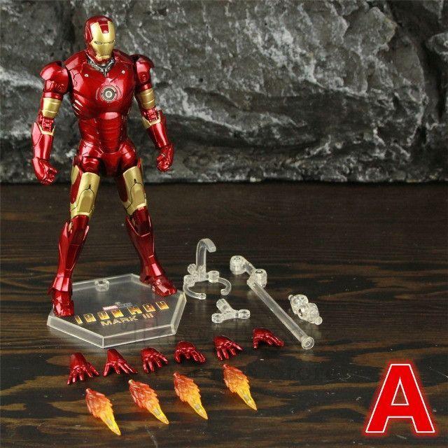 Homem De Ferro (iron Man) Mk3 Zd Toys - Foto 5