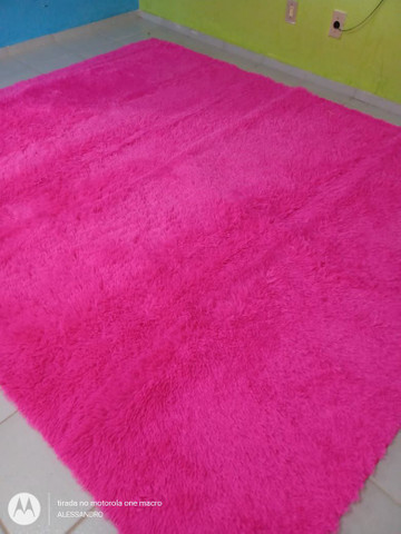 Tapetes o Grande vermelho e pink  - Foto 3