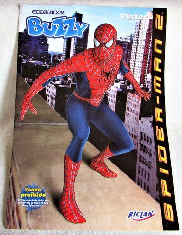 Album Figurinhas Homem Aranha 2 Buzzy 2004 Semi Completo