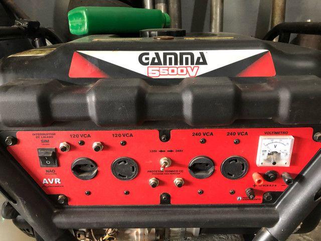 Gerador a Gasolina Gamma 5kva - Foto 2