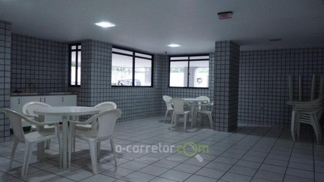 Apartamento com 3 dormitórios à venda, 90 m² por R$ 299.000 - Jardim Oceania - João Pessoa - Foto 7