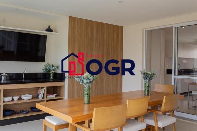 Apartamento com 3 dormitórios à venda, 182 m² por R$ 989.000,00 - Jardim Aquárius - Limeir - Foto 6