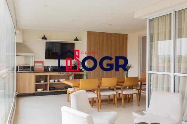 Apartamento com 3 dormitórios à venda, 182 m² por R$ 989.000,00 - Jardim Aquárius - Limeir - Foto 7