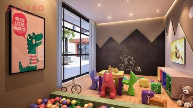 Apartamento com 2 dormitórios à venda, 88 m² por R$ 642.425,79 - Alto da Rua XV - Curitiba - Foto 19