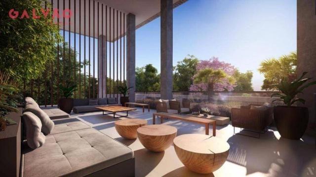 Apartamento com 2 dormitórios à venda, 88 m² por R$ 642.425,79 - Alto da Rua XV - Curitiba - Foto 9