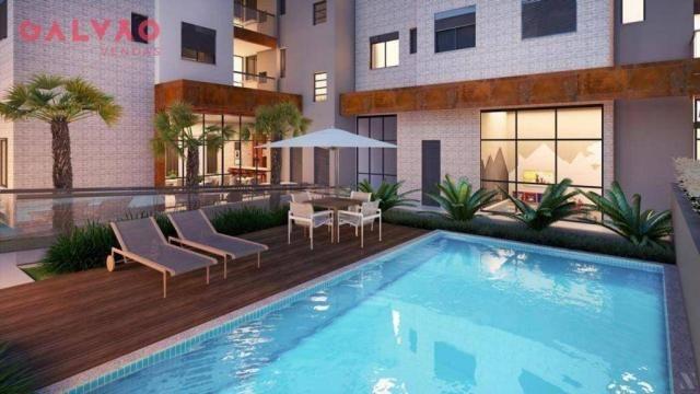 Apartamento com 2 dormitórios à venda, 88 m² por R$ 642.425,79 - Alto da Rua XV - Curitiba - Foto 6