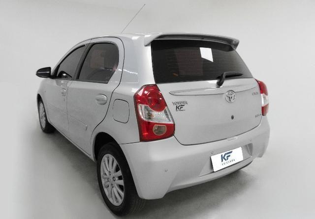 Toyota Etios XLS 1.5 Prata 2014 Completo - Foto 3