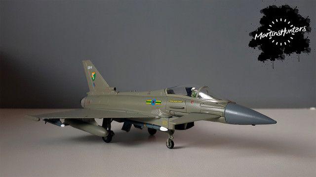 Miniatura Eurofighter EF-2000 - Escala 1:100 - Promoção Imperdível