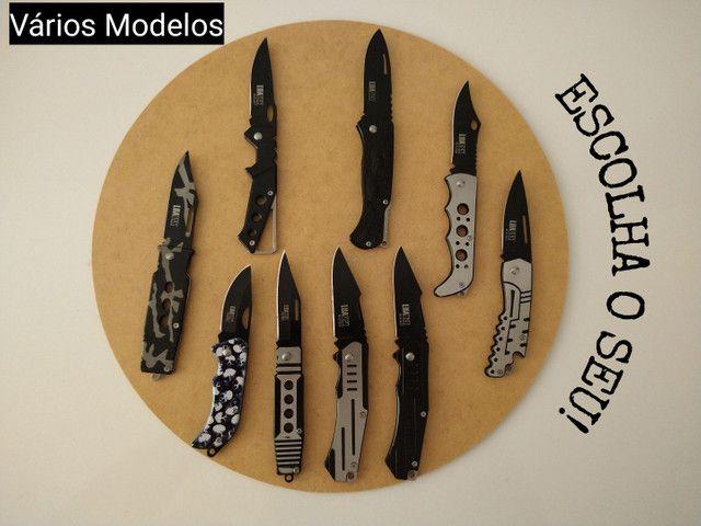 INCRÍVEL Canivete Aço Inoxidável - Alta Qualidade - Foto 2