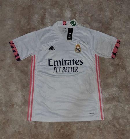 Camisa Real Madrid Home 2020