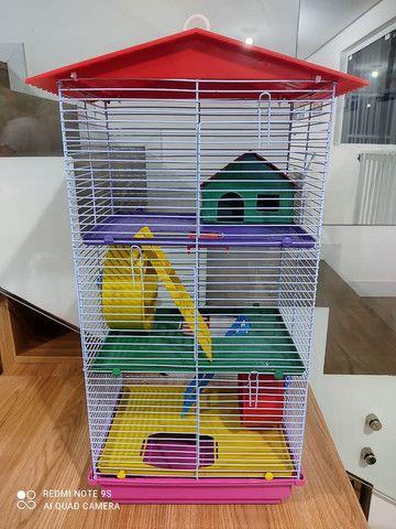Gaiola prédio para hamster - Foto 2