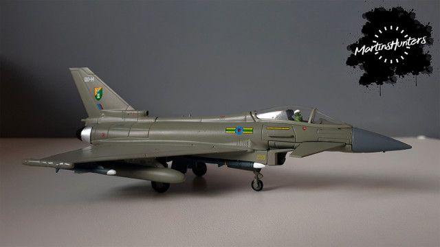 Miniatura Eurofighter EF-2000 - Escala 1:100 - Promoção Imperdível - Foto 4