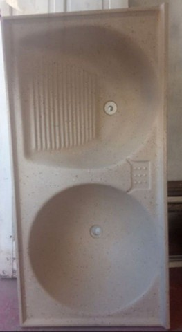 Pia dupla lavatório Aceita cartão - Foto 3