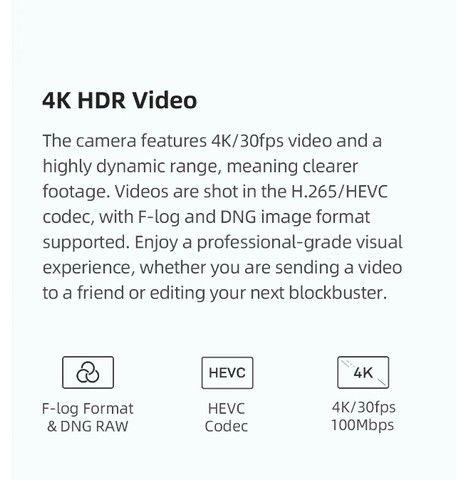 Drone Fimi X8 Mini Gps Camera 4k Gimbal 3 Eixos 8km 30min Lacrado!!! ( troco em PC gamer ) - Foto 6