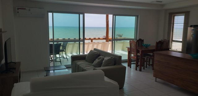 Apartamento para alugueo temporada  com pé na areia na praia do cumbuco 100 m2 - Foto 12