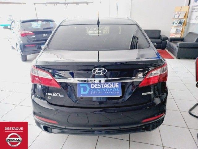 Hyundai HB20S 1.6 Automático 2018 Preto - Foto 5