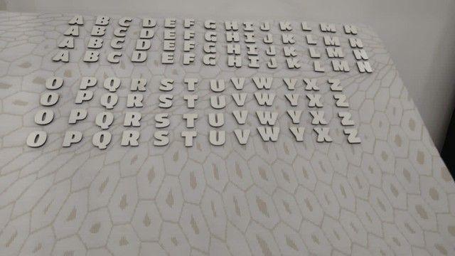 Alfabeto e numeral em mdf  - Foto 2