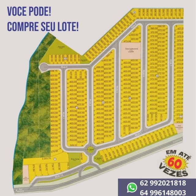 Lote/Terreno Portal Do Rio Quente  - Rio Quente - Goiás - Foto 4
