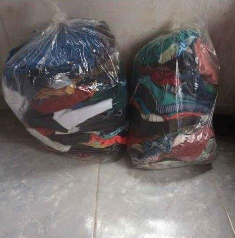 Lote de roupa usada 120 tudo