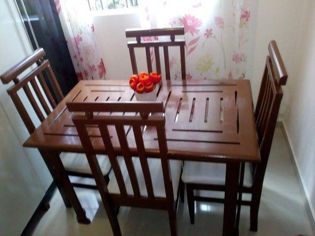 Mesa com 4 cadeiras 1.20 por 74  - Foto 2
