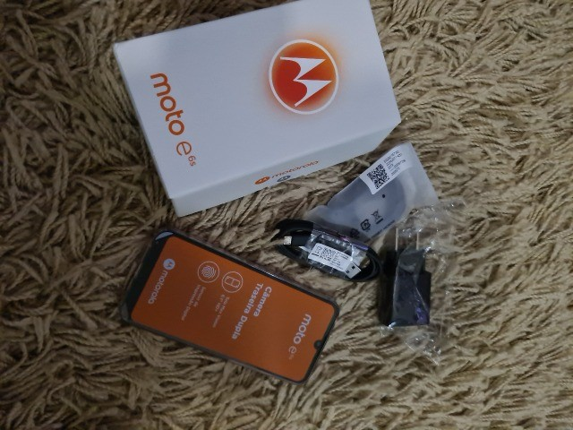 Smartphone Moto E6s 32gb Dual Chip Tela 6.1 Polegadas Pink - Foto 2