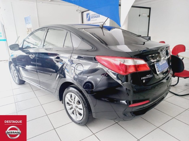 Hyundai HB20S 1.6 Automático 2018 Preto - Foto 9