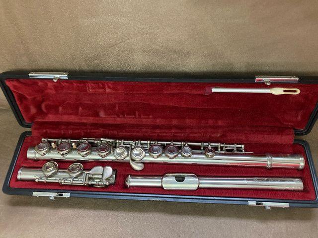 Flauta Yamaha Japan YFL211 - Foto 5