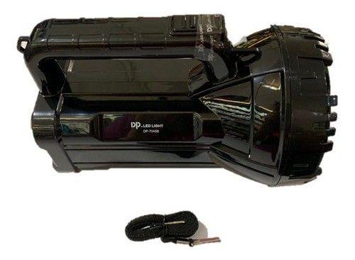 Lanterna Holofote Led Recarregável 500 Metros Super Led (NOVO) - Foto 4