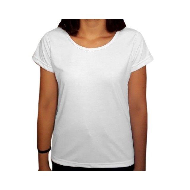 camiseta lisa para sublimação 100% poliester