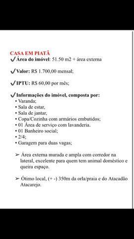 ALUGUEL CASA PIATÃ - Foto 7