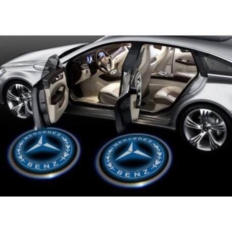 49cada porta projetor porta de carro luz a pilha TEM FIAT FORD WOLKS Etc