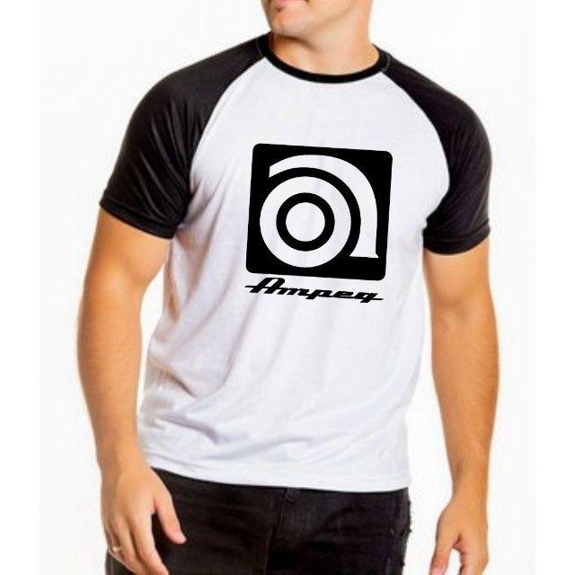 Camiseta Ampeg - cubo de baixo