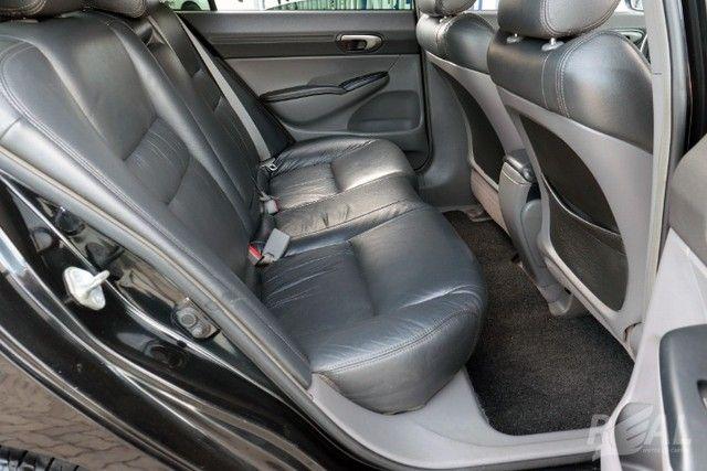 Honda Civic LXS 1.8 Automático Flex Financia Até 60X Com Apenas 5 Mil De Entrada - Foto 12