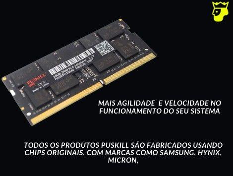 Memória Ram DDR4 Puskill 4Gb 2400MHz - Notebook (Produto novo e com Garantia) - Foto 2