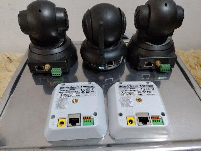 Lote Com 5 Câmeras de Segurança Preço Pra Vender Rápido Em Perfeitas Condições - Foto 4