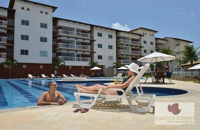 Apartamento à venda, 76 m² por R$ 439.000,00 - Porto das Dunas - Aquiraz/CE - Foto 2