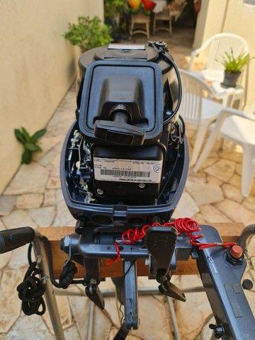 Motor de popa 15 hp yamanha  - Foto 4