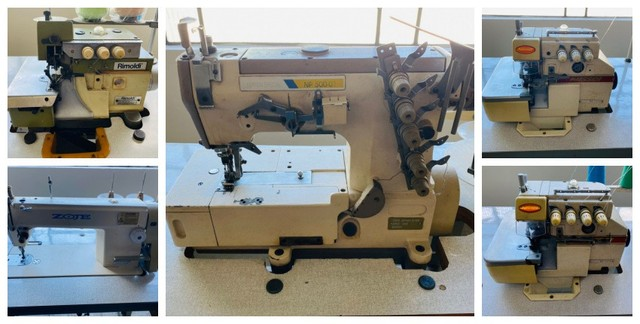 Lote de maquinas de costura
