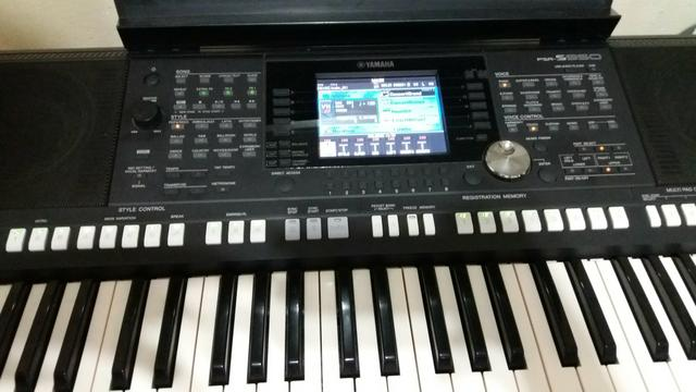 teclado yamaha psr s950 instrumentos musicais jardim. Black Bedroom Furniture Sets. Home Design Ideas
