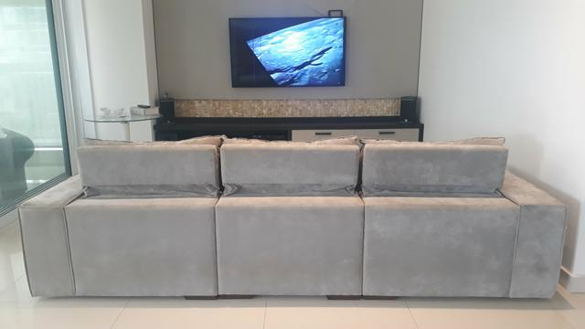 Sofa Com Chese Home Theater Cinema Em 10x