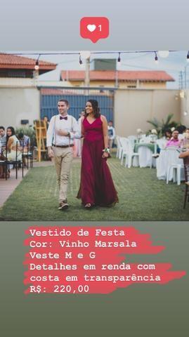 Vestido Vinho Marsala R 22500