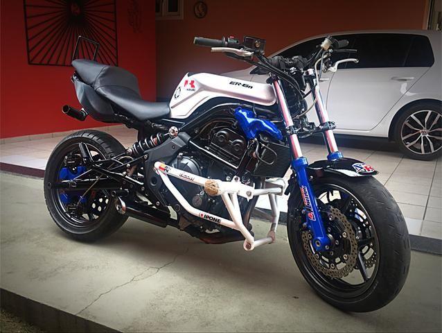 Kawasaki Er-6n 650 - Stunt / Wheeling