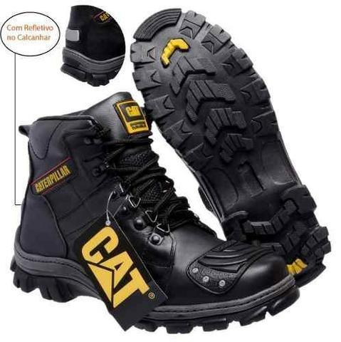 e8db4eea63 Bota Caterpillar Motoqueiro Masculina Original - Roupas e calçados ...